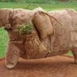 Folk Art Sheep ..